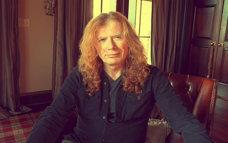 Dave Mustaine, vocalista do Megadeth, é diagnosticado com câncer na garganta