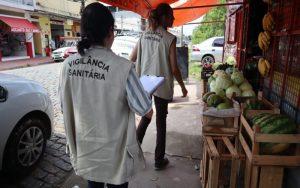 Fiscalização de Posturas interdita comércios irregulares no Jardim Monte Cristo, em Suzano