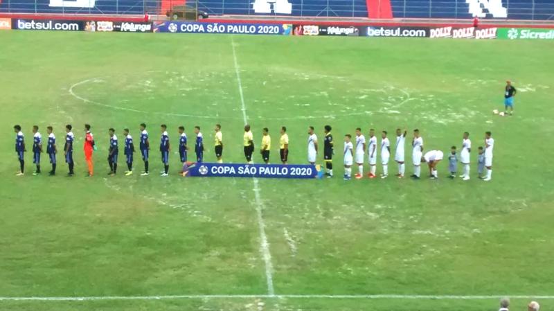USAC perde na estreia da Copinha São Paulo