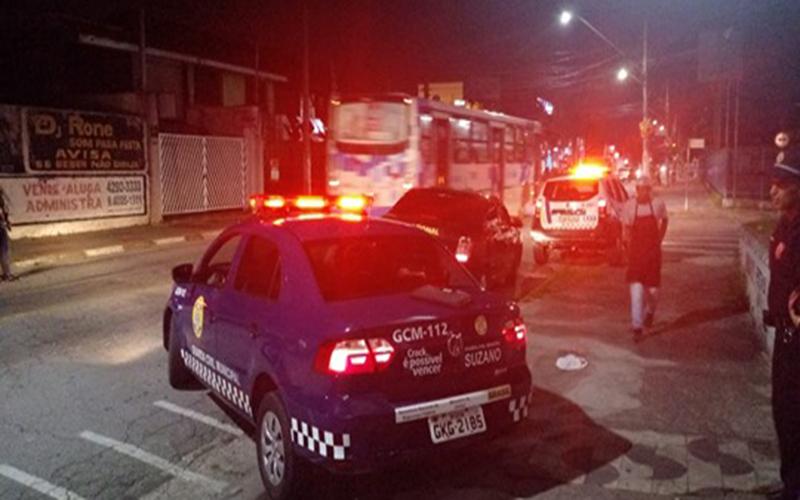 Três são detidos por pichar muro na Armando de Salles Oliveira