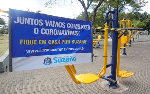 Suzano interdita academias ao ar livre no período de quarentena