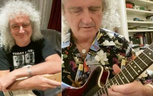Brian May, do Queen, dá aulas de guitarra no Instagram na quarentena