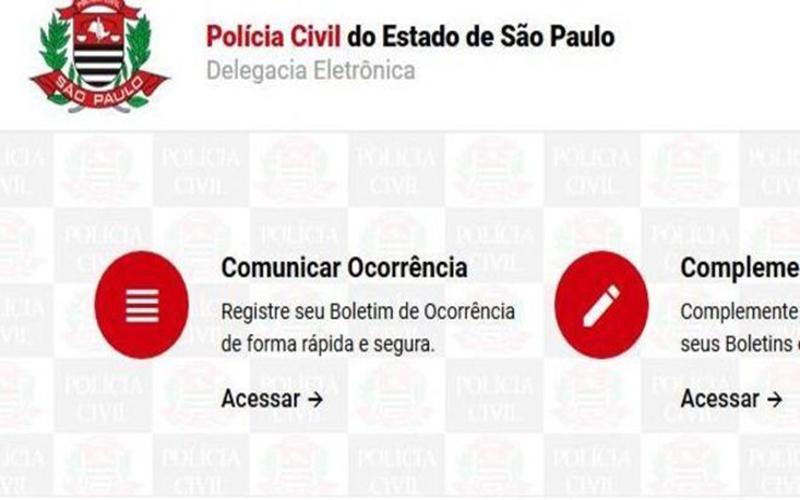 São Paulo amplia registro de boletim de ocorrência pela internet