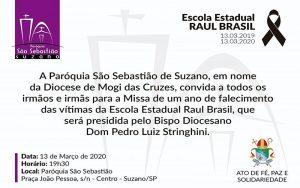 A Paróquia São Sebastião convida: