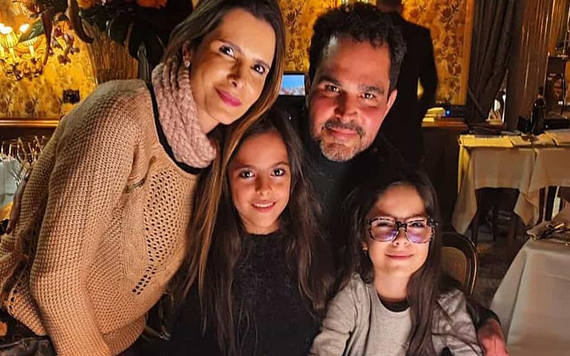 Casado há 17 anos, Luciano Camargo diz que nunca discutiu com a mulher