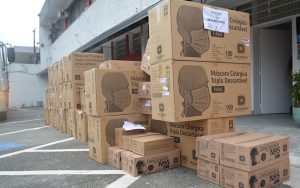 Alto Tietê vai receber 150 mil máscaras