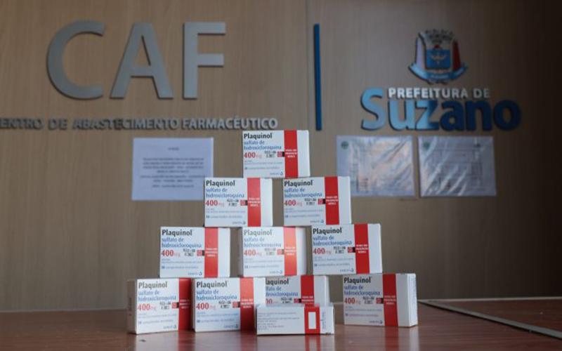 Condemat recebe 7,5 mil comprimidos de Suzano