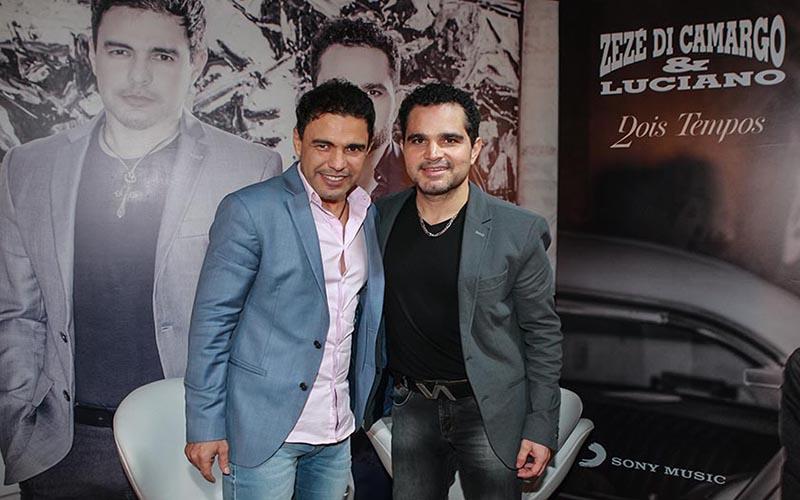 Zezé Di Camargo e Luciano gravam série com Marília Mendonça e Luan Santana