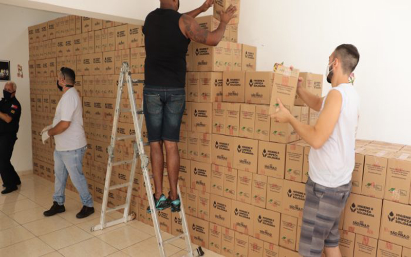 Fundo Social recebeu mais de 9 mil kits de higiene do governo do Estado