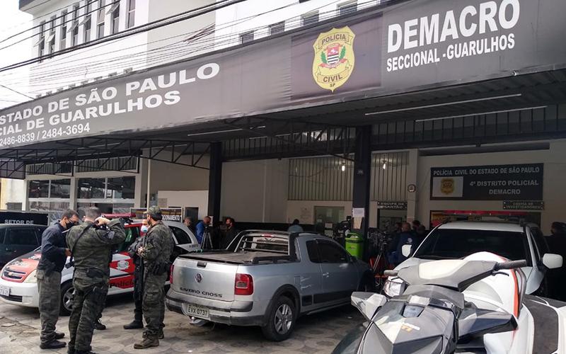 Polícia Civil cumpre mandados de operação que investiga lavagem de dinheiro e organização criminosa no Alto Tietê