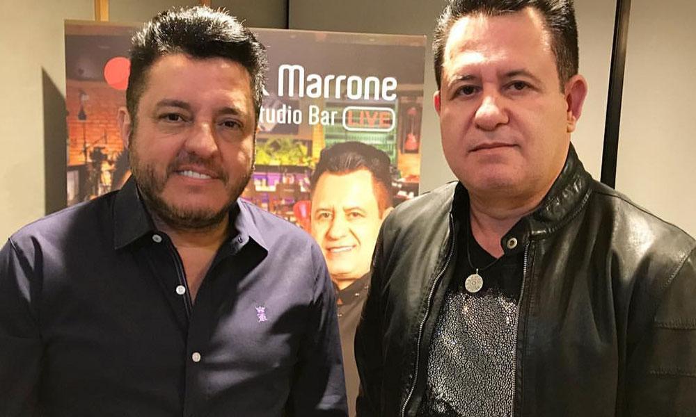 Band exibe show ao vivo de Bruno e Marrone nesta sexta