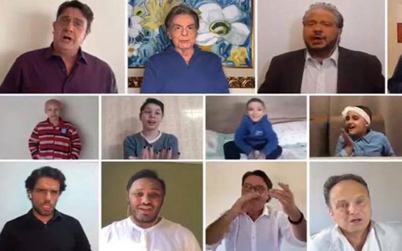 Maiores tenores do Brasil gravam Aleluia: ajudar crianças com câncer