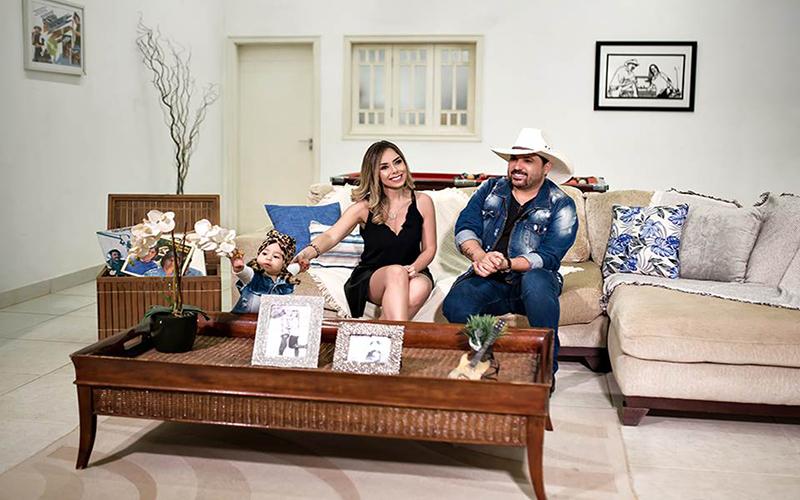 Edson em Família: sertanejo estreia série em formato de reality no YouTube
