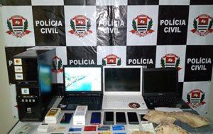 Polícia Civil detém três e descobre central de fraudes do auxílio emergencial em Suzano
