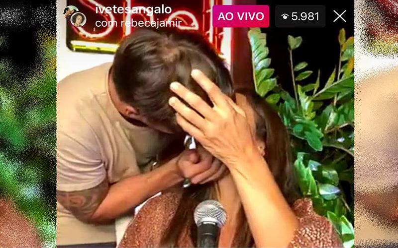 Ivete Sangalo desmente o boato de separação com beijaço no marido