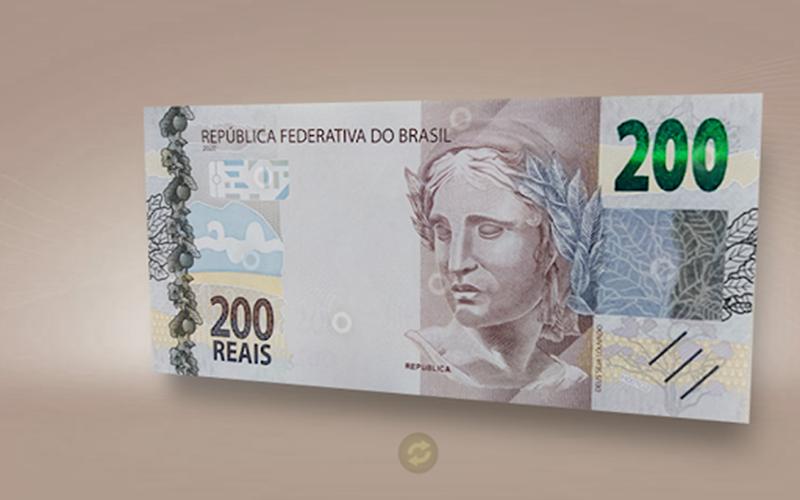 Defensoria Pública do DF notifica Banco Central a mudar tamanho da nota de R$ 200. Entenda