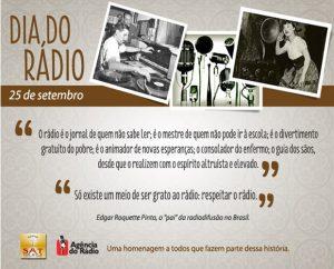 25 de Setembro Dia do Rádio
