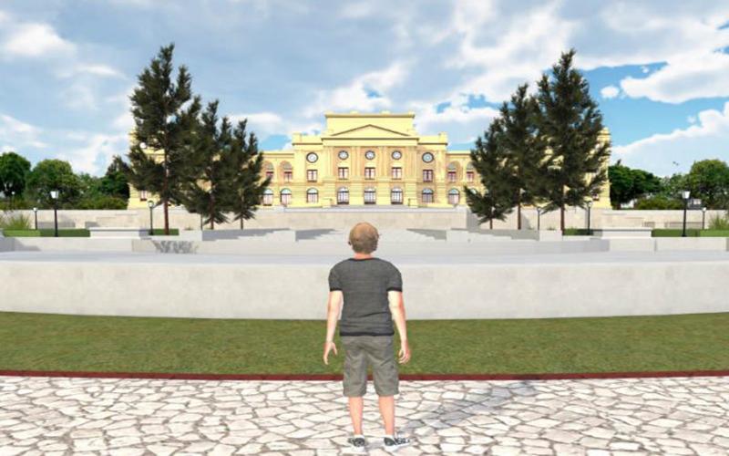 Público pode fazer passeio virtual pelo novo Museu do Ipiranga