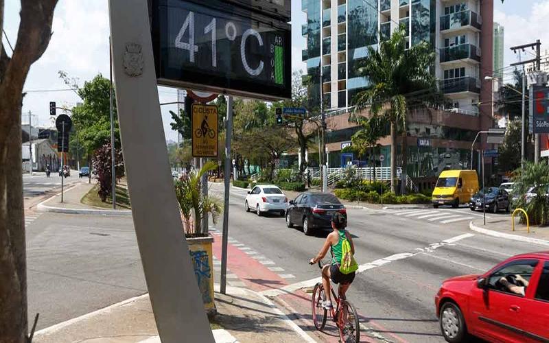 Onda de calor histórica no Brasil está chegando ao fim