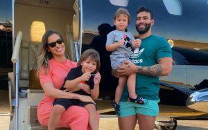 Gusttavo Lima pagará quase R$ 56 mil de pensão para Andressa Suita e os filhos