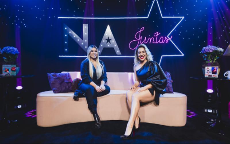 "Naiara e Marilia gravam faixa para o projeto ""Juntas"""