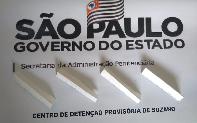 CDP de Suzano encontra droga escondida em capa de livro enviado por mãe de detento, diz SAP
