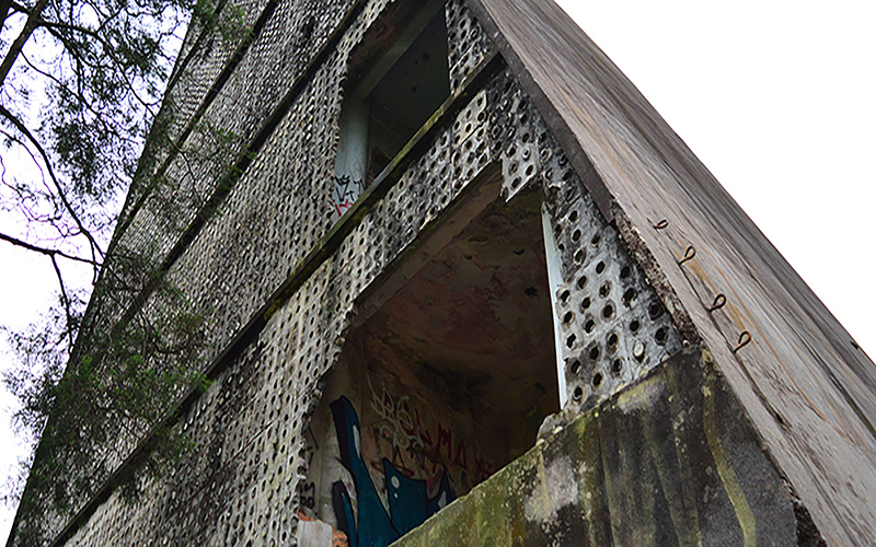 Laudo vai identificar estado de conservação de pirâmide 'turística' no Mirante do Sesc