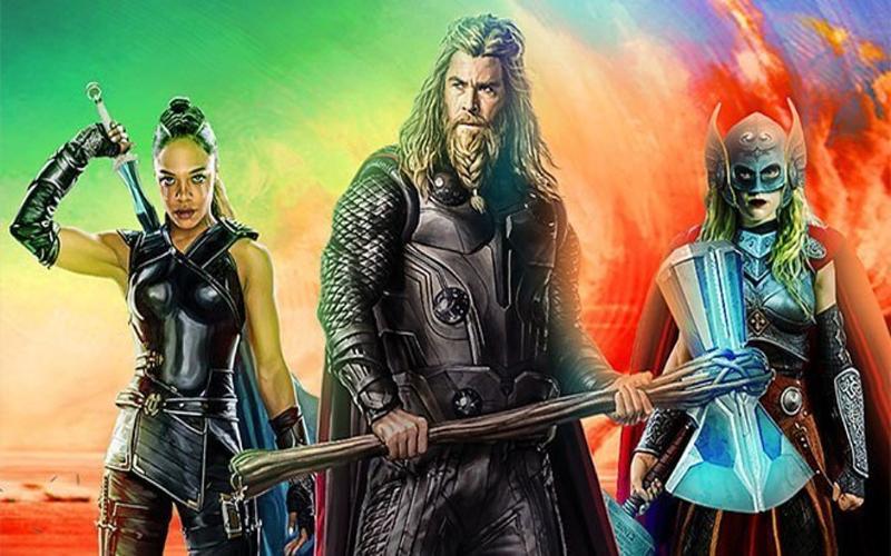 """""""Thor: Amor e Trovão"""": Confira as primeiras imagens divulgadas pela diretora no 1º dia de gravação"""