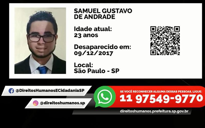 Imagens de pessoas desaparecidas são divulgadas no Metrô de SP