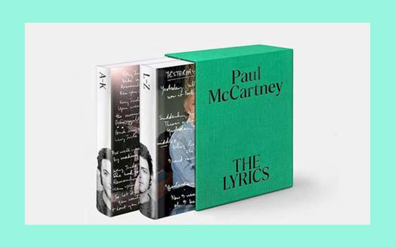 Paul McCartney vai lançar livro com letras, rascunhos e fotografias