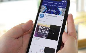Prefeitura de Suzano lança canal no Youtube