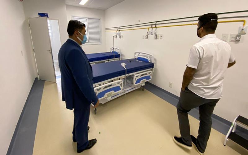 Alto Tietê terá 90 novos leitos para atender pacientes com Covid-19 no Hospital Dr. Arnaldo Pezzuti