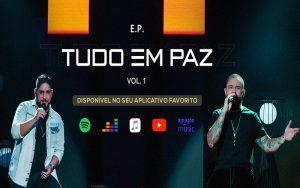 """Ouça """"Tudo Em Paz"""", o novo álbum de Jorge e Mateus"""