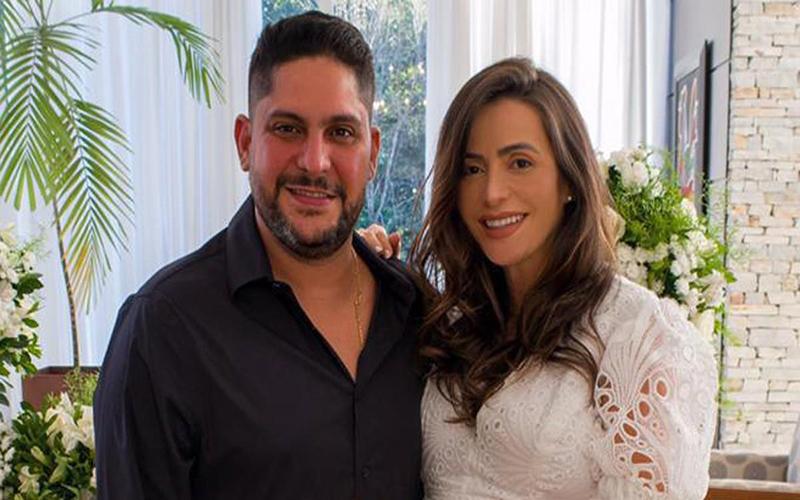 Jorge, da dupla com Mateus, se casa com ex-mulher do ex-cunhado