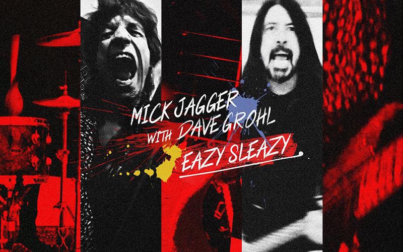 """Mick Jagger lança """"Eazy Sleazy"""", em parceria com Dave Grohl. Veja!"""