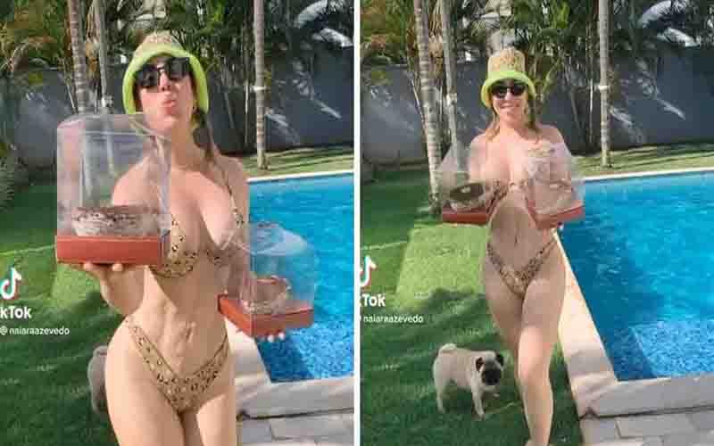 Naiara Azevedo rebate crítica por 'barriga esquisita': 'Não me incomoda'
