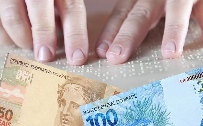 Comissão aprova projeto que exige inscrição em braile do valor das cédulas de real