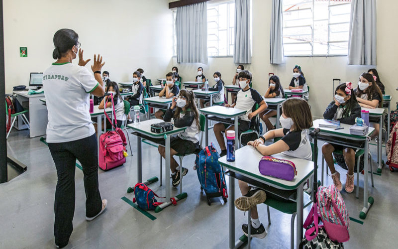 SP: aulas presenciais serão obrigatórias a partir de segunda