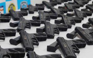 GCM de Suzano recebe mais 44 armas para policiamento