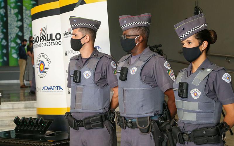 Câmeras corporais diminuem letalidade em ações policiais em São Paulo