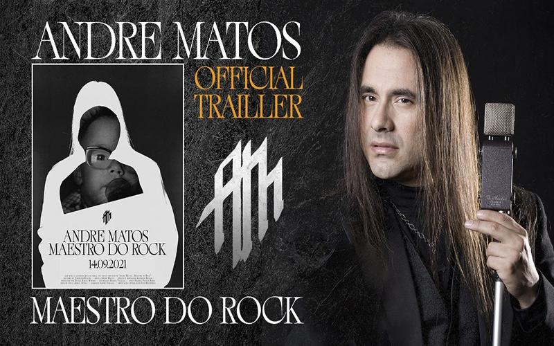 Filme celebra obra do roqueiro Andre Matos, 'Maestro do Rock'